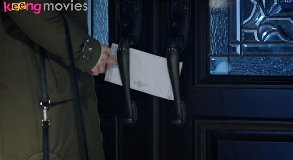 Khảo Nhi để lại bức thư trước cửa nhà Kỳ Thụ Lễ...
