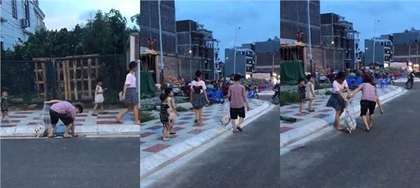 Clip: Ông bố cùng các con vừa đi bộ vừa nhặt rác trên đường, ai xem xong cũng phải thốt lên 'Phải làm theo thôi!' 2