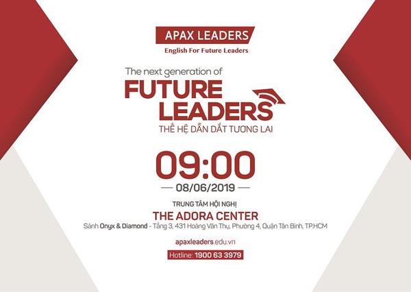Lễ Tốt nghiệp Apax Leaders 2019 sẽ chính thức diễn ra vào 08/06/2019
