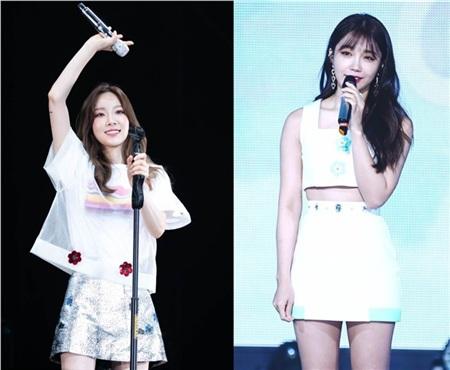 Bỗng có một ngày, Eunji (Apink) bất ngờ được khen hát hay hơn đàn chị Taeyeon 2