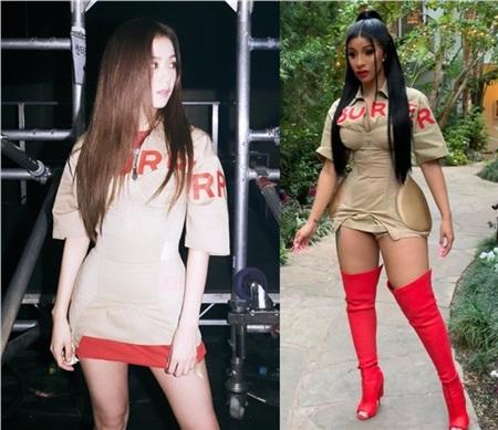 Jisoo (Black Pink) 'xử đẹp' cả mỹ nhân thế hệ mới của Trung Quốc lẫn Cardi B khi mặc đụng hàng 2