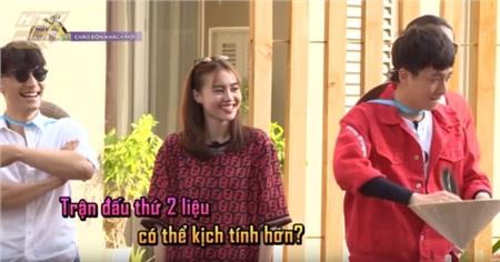 Nghi vấn: Ninh Dương Lan Ngọc diện áo 'bạn trai tin đồn' Chi Dân đi quay show 0