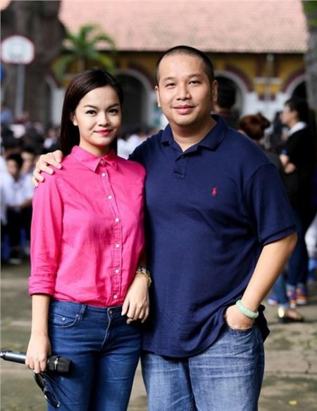 Phạm Quỳnh Anh và Quang Huy đã có gần 20 năm bên nhau.