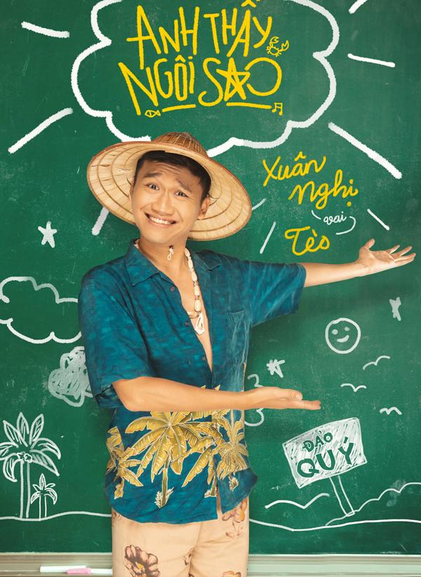 Huyme ôm đàn mộng mơ, Miu Lê cầm búa cực ngầu trong bộ poster nhân vật của 'Anh Thầy Ngôi Sao' 3