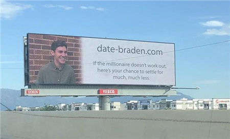 Bảng quảng cáo cute của Braden, 24 tuổi, nhà khoa học dữ liệu