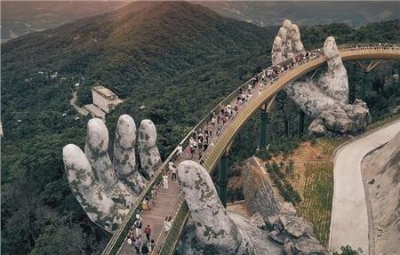 Cầu Vàng Việt Nam. Ảnh Internet