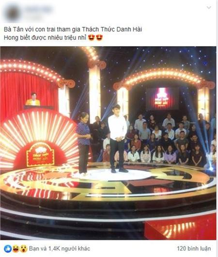 Bà Tân sẽ tham gia Thách thức danh hài mùa 6.