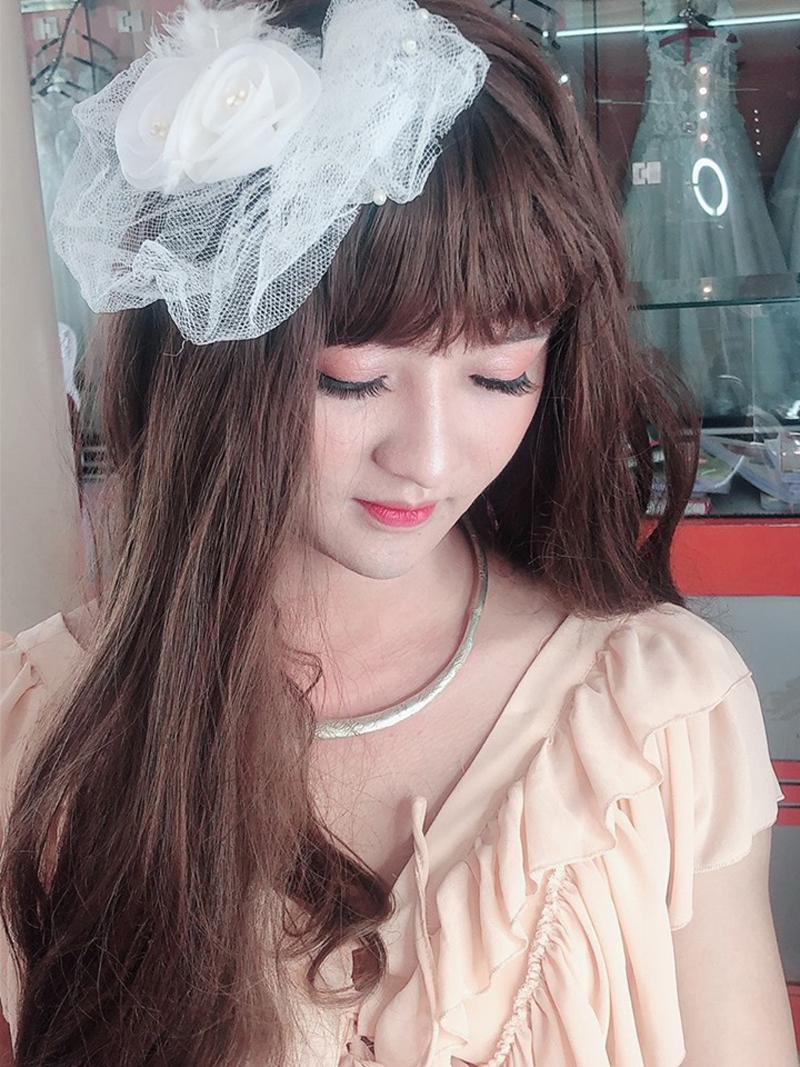 Giả gái xuất sắc, 9X Thanh Hoá khiến bố mẹ không nhận ra con trai, hội chị em thì 'gato ầm ầm' vì quá xinh 7
