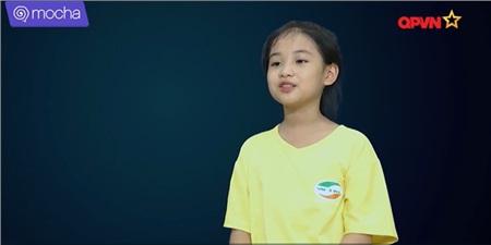 Cô bé Hà Anh tiết lộ rất thích thú bài tập này và đôi khicảm thấy các động tác khá buồn cười