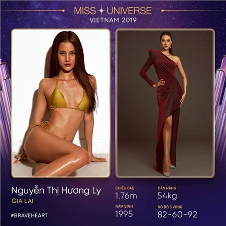 Người đẹp Hương Ly cũng là một cái tên đã từng phải bỏ dở giữa chừng tại Miss Universe Vietnam 2017