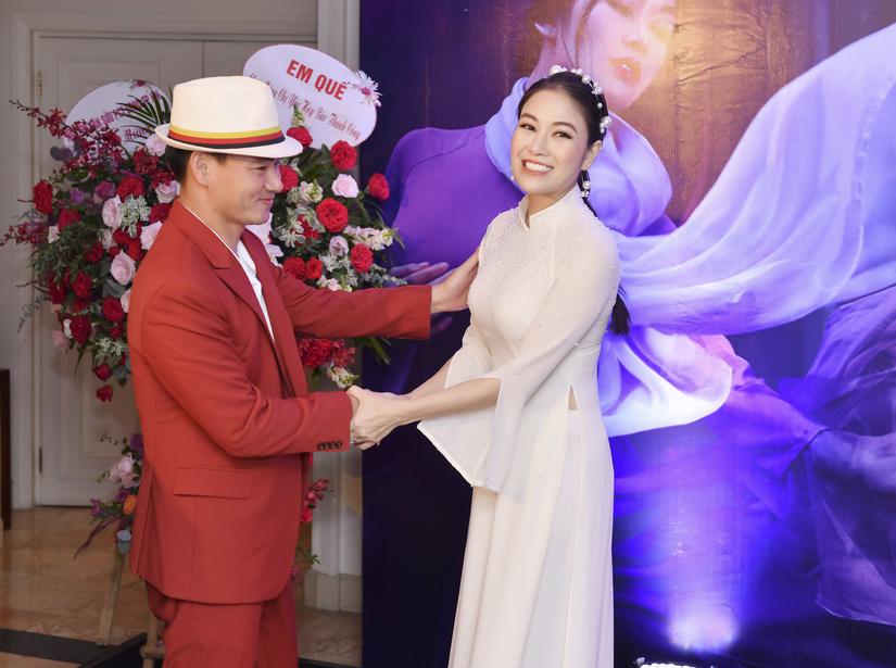 Làm MC nhiều năm, nhưng vì Hoa hậu Tuyết Nga, lần đầu tiên Xuân Bắc đồng ý việc này 1