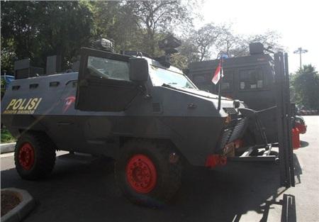 Rất nhiều phương tiện an ninh đã được Indonesia chuẩn bị.