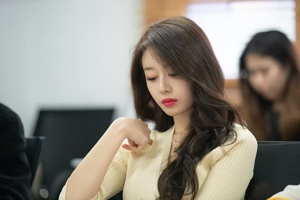 JiYeon tại buổi đọc kịch bản phim