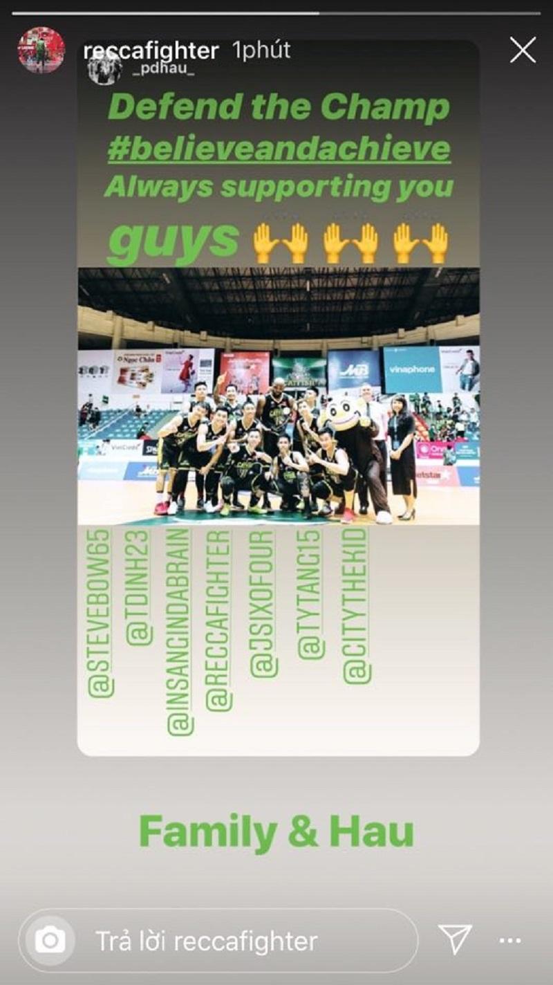 Tâm Đinh và Hoàng Ca cũng đang thể hiện sự quyết tâm cùng Cantho Catfish trở thành đội bóng đầu tiên bảo vệ thành công chức vô địch