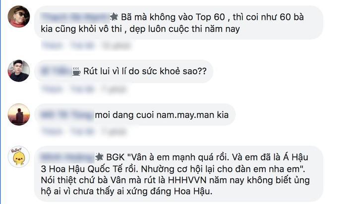 Bất ngờ với phản ứng của fan trước thông tin Á hậu Thúy Vân bị loại khỏi Top 60 Miss Universe Vietnam 2019 6