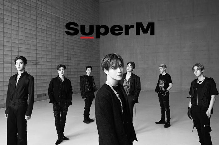 7 chàng trai củaSuperM.