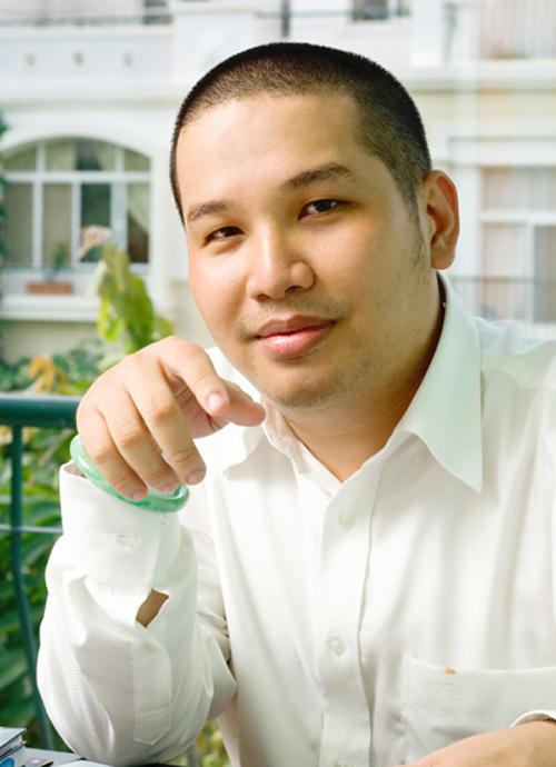Quang Huy là ông bầu cực mát tay.
