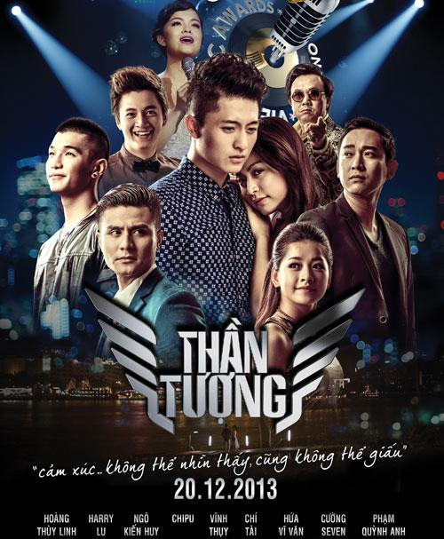 Quang Huy thắng lớn với Thần tượng.