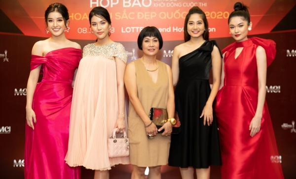 Lan Khuê bụng bầu 8 tháng vẫn xinh đẹp làm giám khảo cuộc thi hoa hậu sắc đẹp quốc tế 5