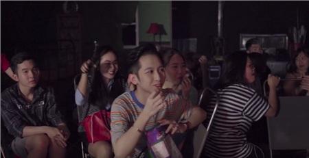 Vũ Thảo My hé lộ hậu trường cảnh hôn táo bạo bên Gi-A Nguyễn 1