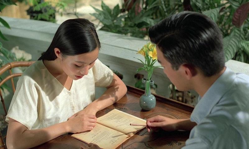 Mùi được chồng dạy chữ.