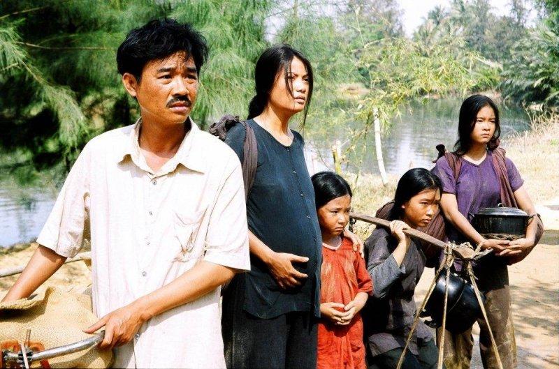 Gia đình nghèo của Dần và Gù.