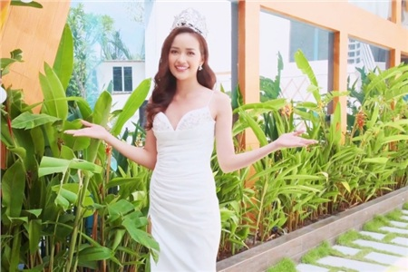 Ngọc Châu chia sẻ việc bố mất sớm, đưa thông điệp về ung thư trong clip giới thiệu tại Miss Supranational 2019 0