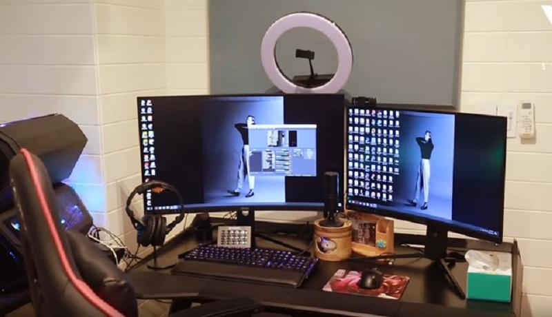 ViruSs khoe phòng stream 'triệu đô' với chiếc PC trông như phi thuyền không gian 5