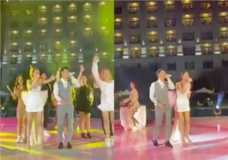Lễ cưới vừa xong Đông Nhi đã thay ngay váy ngắn, lên sân khấu 'dẩy đầm' cực sung bài hát mới 0