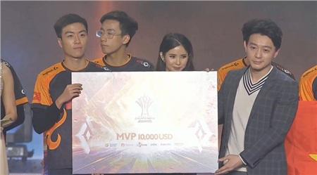 XBxuất sắc giành được danh hiệu MVP