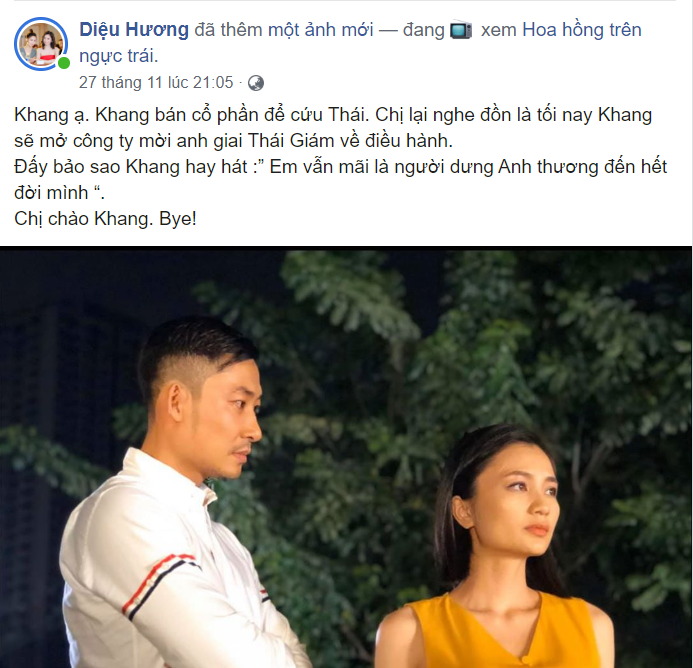'Hoa hồng trên ngực trái' trailer tập 35: Khang bất ngờ tỏ tình San nhưng nhận lại là sự dửng dưng của 'chị đẹp'? 3