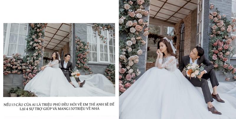 Nhìn vào những bức hình này, ai cũng có thể cảm nhận được tình cảm mà Trung Anh dành cho vợ