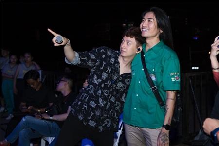 BB Trần bất ngờ xuất hiện trong buổi tổng duyệt liveshow Ngô Kiến Huy 2