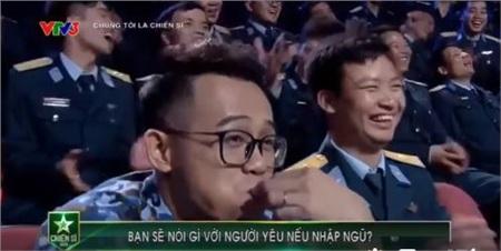 Biểu cảm hài hước của MC Đức Bảo
