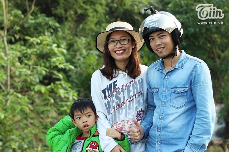 Gia đình chị Nguyệt
