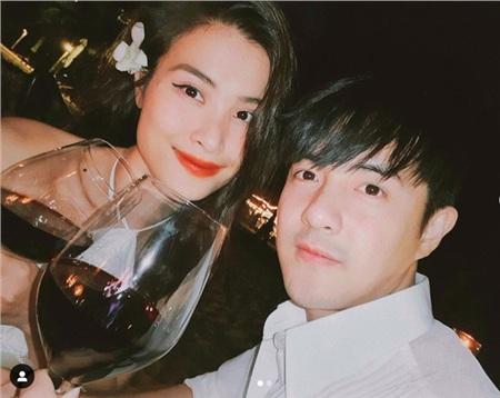 Đông Nhi đăng hình tình tứ chúc mừng sinh nhật chồng