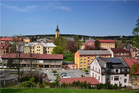 Thị trấn Vejprty, nơi xảy ra vụ hỏa hoạn