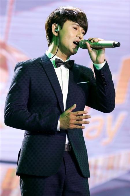 Ưng Đại Vệ trong chương trình Sing my song