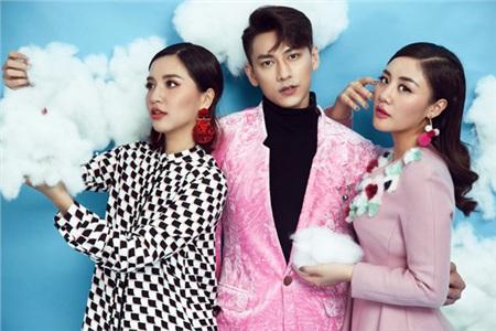Bộ ba ban giám khảo Vietnam Idol Kids năm 2017