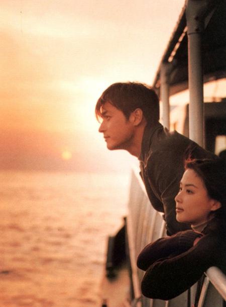 Jang Dong Gun và Ko So Young trong phim Love wind love song