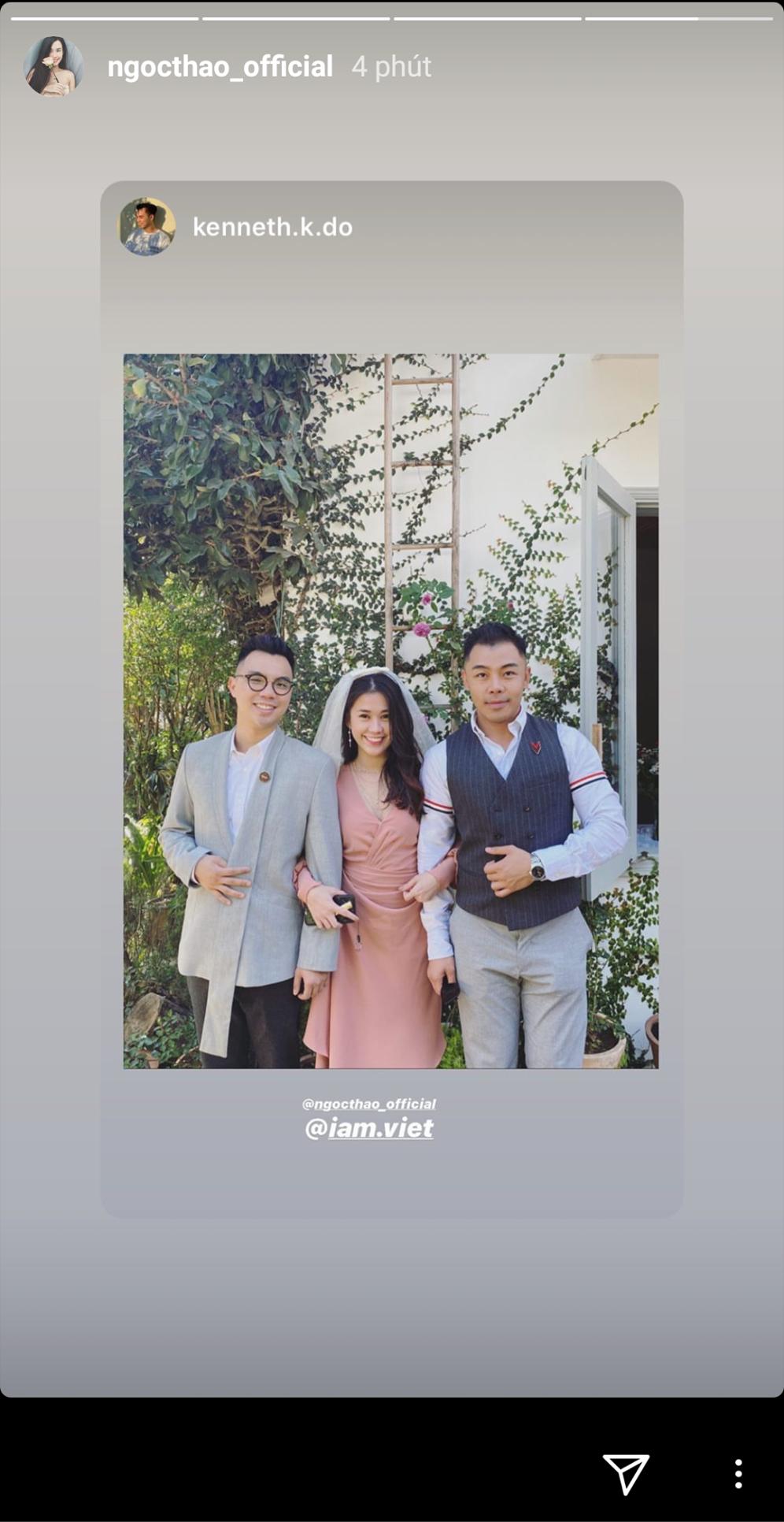 Hội bạn thân 'nô nức' khoe ảnh đi đám cưới Hoàng Touliver và Tóc Tiên 7
