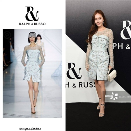 Đẳng cấp quyền lực của Jessica trong thời trang được thể hiện qua những chiếc váy đầm Haute Couture 'hơn cả chữ đắt'.