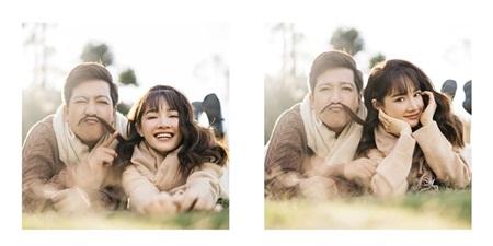 Từ khi lấy nhau, Trường Giang và Nhã Phương luôn thể hiện tình cảm ngọt ngào trên mạng xã hội.