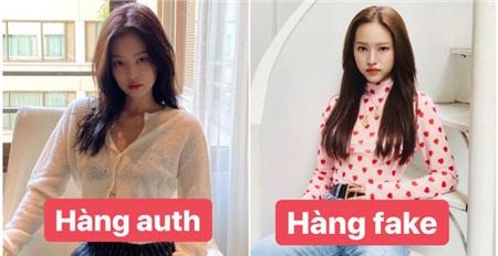 Hình ảnh của Thúy Vi được cho là bắt chước phong cách của Jennie