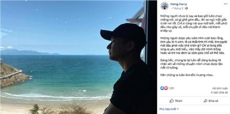 Harry Hưng đăng ảnh uống bia giải sầu đúng đêm Nhật Lê đi ăn cháo với Quang Hải 5