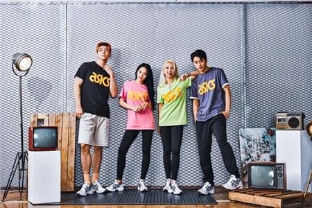BST quần áo phiên bản giới hạn lấy cảm hứng từ nhóm nhạc nổi tiếng KARD cũng sẽ được ASICS ra mắt tại thị trường Việt Nam trong tháng 4 này