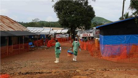 Khu chống dịch Ebola tại châu Phi