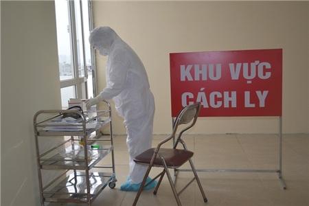 Khu vực cách ly tại Bệnh viện Công an TP Hà Nội