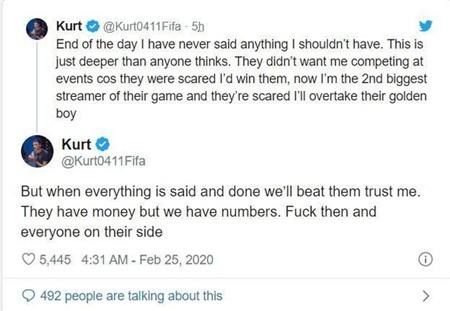 Chửi bậy khi livestream, game thủ nổi tiếng nhất nhì cộng đồng FIFA 20 bị EA cấm vĩnh viễn cả đời 3