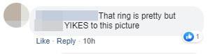 Một số bình luận của cư dân mạng về móng tay của cô nàng.